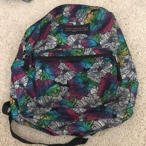💕New Listing💕 Jansport Floral Backpack